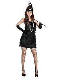 Flapper black Costume