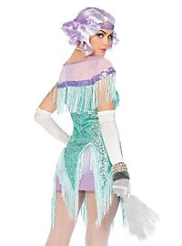 Flapper Kostüm türkis
