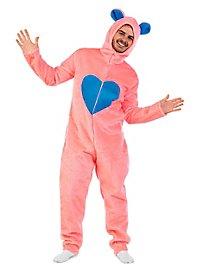 Plüschkostüm Flauschiger Bär pink Kostüm