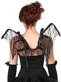 Fledermaus Flügel aus Spitze