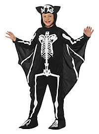 Fledermaus Skelett Kinderkostüm