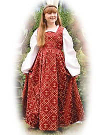 Fleur-De-Lis Kinderkleid Kinderkostüm
