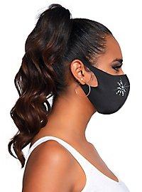 Fleur Mundschutz Maske mit Strass