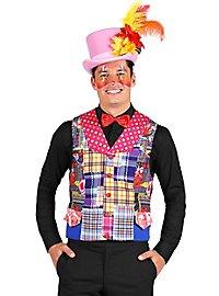 Flickenweste Clown für Herren