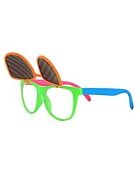 Flip-up Glasses neon