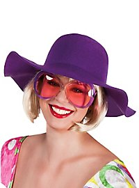Floppy Hat purple
