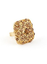 Flower Ring brown