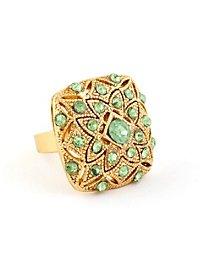 Flower Ring green