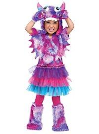 Fluff Monster violet Kids Costume
