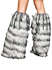 Fluffies with Beaded Fringe