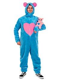 Fluffy Bear blue Costume
