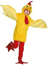 Fluffy Chicken Kids Costume