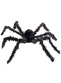 Fluffy giant spider with light eyes