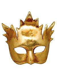 Foglia Platano oro - Venezianische Maske