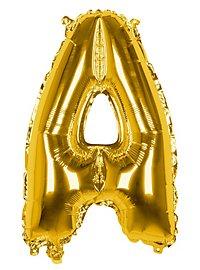 Folienballon Buchstabe A gold 36 cm