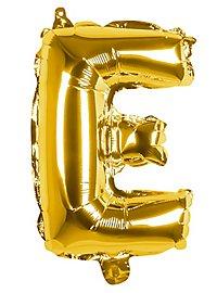 Folienballon Buchstabe E gold 36 cm