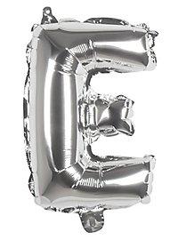 Folienballon Buchstabe E silber 36 cm