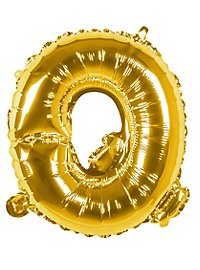Folienballon Buchstabe Q gold 36 cm