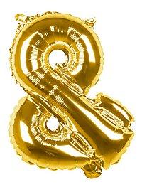 Folienballon &-Zeichen gold 36 cm