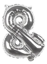 Folienballon &-Zeichen silber 36 cm