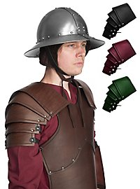 Leather Pauldrons - Soldier