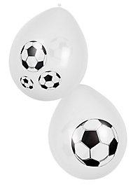 Football Balloons 6 pieces