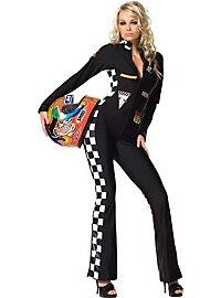 Formel 1 Anzug schwarz Kostüm