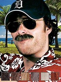 Fouineur Moustache professionnelle en poils véritables