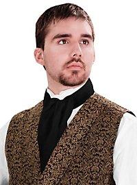 Foulard cravate noir