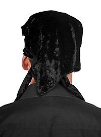 Foulard de pirate noir