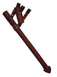 Fourreau d'épée de chevalier marron
