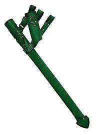 Fourreau d'épée de chevalier vert