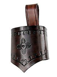 Fourreau d'épée d'habitant des bois marron foncé