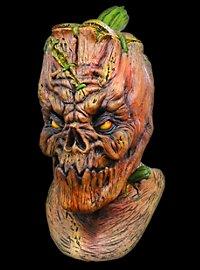 Frankensteins Kürbis Deluxe Maske aus Latex