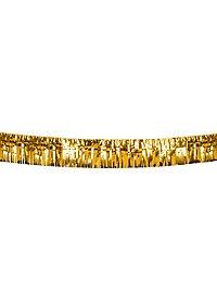 Fransengirlande 6 Meter gold