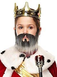 Frayed full beard for children
