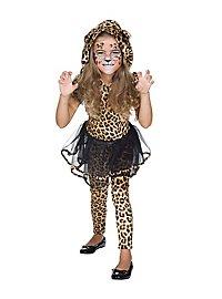 Frecher Leopard Kinderkostüm