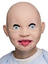 Freches Baby Maske aus Latex