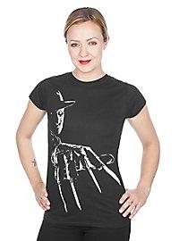 Freddy Krueger - Girlie Shirt Klingenhandschuh