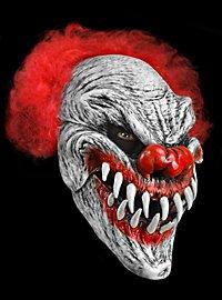 Fressclown Maske aus Latex