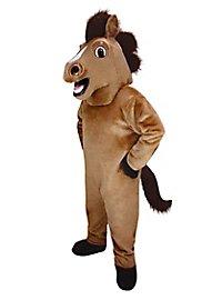 Freundliches Pferd Maskottchen