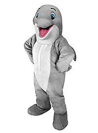 Fröhlicher Delphin Maskottchen
