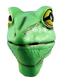 Frosch Maske aus Latex