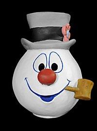 Frosty der Schneemann Maske aus Latex