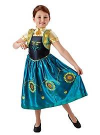 Frozen kid's costume Anna flower dress