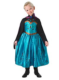 Frozen kid's costume Elsa coronation dress