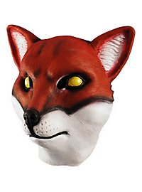 Fuchs Maske aus Latex
