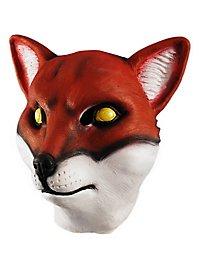 Fuchs Maske aus Latex