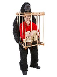 Fun Costume Gorilla with Cage