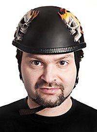 Fun Helm Flammenschädel